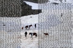 snow horse khev collage cipher T