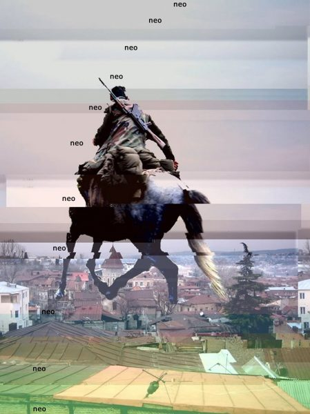 Neo rider Tbilisi collage